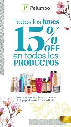 Ofertas de Perfumerías y Belleza en el catálogo de Palumbo ( Publicado hoy)
