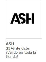 Ofertas de ASH  en el catálogo de Santiago