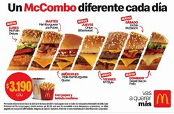 Ofertas de Restaurantes en el catálogo de McDonald's en Viña del Mar ( Más de un mes )