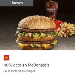 Ofertas de McDonald's  en el catálogo de Santiago