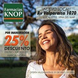 Ofertas de Farmacias Knop en el catálogo de Farmacias Knop ( 5 días más)