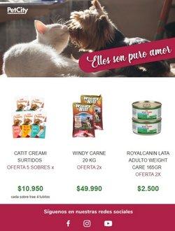Ofertas de Pet City en el catálogo de Pet City ( Publicado ayer)