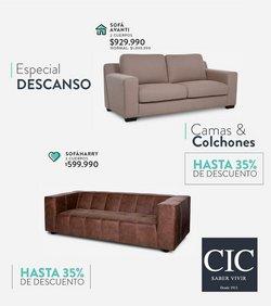 Ofertas de Muebles y Decoración en el catálogo de CIC ( 6 días más)