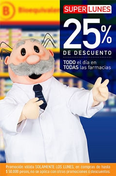 Ofertas de Farmacias del Dr. Simi  en el catálogo de Santiago