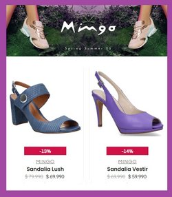 Ofertas de Mingo en el catálogo de Mingo ( Vence mañana)