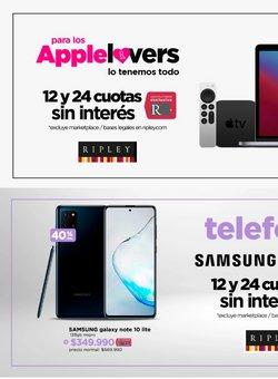 Ofertas de Samsung en el catálogo de Ripley ( Publicado ayer)