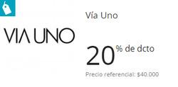 Ofertas de Via Uno  en el catálogo de Santiago