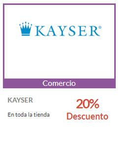 Ofertas de Kayser  en el catálogo de Santiago