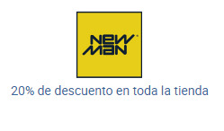 Ofertas de New Man  en el catálogo de Quilicura