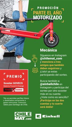 Ofertas de Scooter en Chilemat