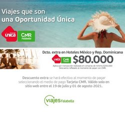 Ofertas de Viajes Falabella en el catálogo de Viajes Falabella ( 6 días más)