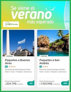 Ofertas de Falabella en el catálogo de Viajes Falabella ( 8 días más)