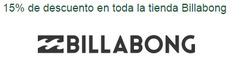 Ofertas de Billabong  en el catálogo de Santiago