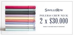 Ofertas de Saville Row  en el catálogo de Santiago