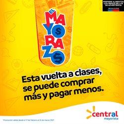 Ofertas de Vuelta a Clases en el catálogo de Central Mayorista ( 22 días más)