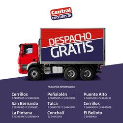 Ofertas de Central Mayorista  en el catálogo de Santiago
