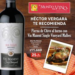 Ofertas de El Mundo del Vino  en el catálogo de Las Condes