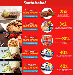Catálogo Santa Isabel ( Publicado hoy)