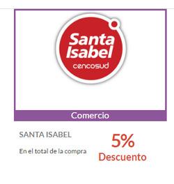 Ofertas de Santa Isabel  en el catálogo de Valparaíso