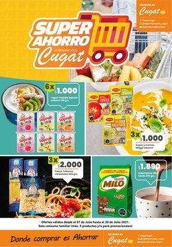Ofertas de Supermercados y Alimentación en el catálogo de Cugat ( Vence mañana)