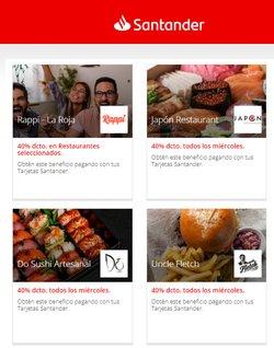 Catálogo Santander ( 2 días más)