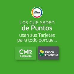 Ofertas de Bancos y Servicios en el catálogo de Banco Falabella ( 9 días más)