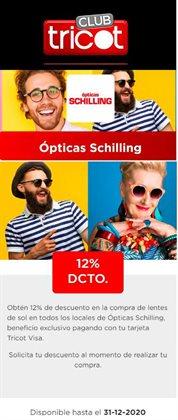 Catálogo Ópticas Schilling en La Florida ( Más de un mes )