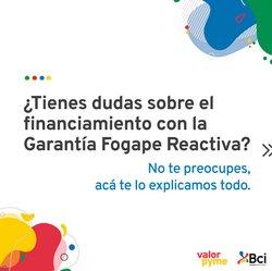 Ofertas de Bancos y Servicios en el catálogo de BCI ( Más de un mes)