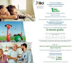 Ofertas de Bancos y Servicios en el catálogo de BCI ( 7 días más)