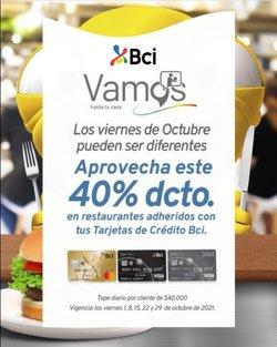 Ofertas de Bancos y Servicios en el catálogo de BCI ( 3 días más)