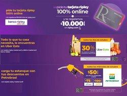 Ofertas de Bancos y Servicios en el catálogo de Banco Ripley ( 5 días más)