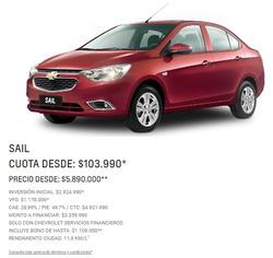 Ofertas de Chevrolet  en el catálogo de Santiago