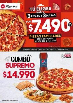 Catálogo Pizza Hut ( 12 días más)