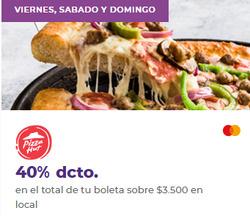 Ofertas de Restaurantes  en el catálogo de Pizza Hut en Santiago