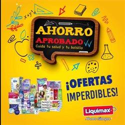 Ofertas de Vuelta a Clases en el catálogo de Liquimax ( 16 días más)