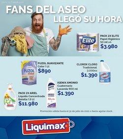 Ofertas de Supermercados y Alimentación en el catálogo de Liquimax ( 2 días más)