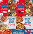 Catálogo Domino's Pizza ( 7 días más )