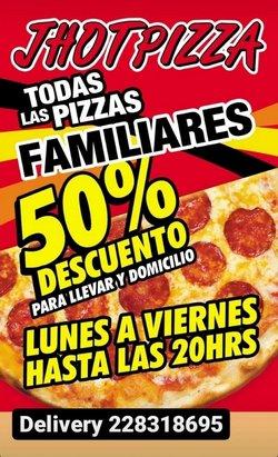 Ofertas de Jhot Pizza en el catálogo de Jhot Pizza ( 5 días más)