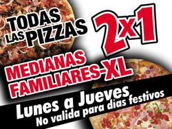 Ofertas de Jhot Pizza  en el catálogo de Melipilla