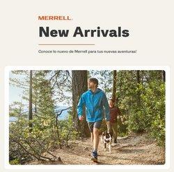 Ofertas de Deporte en el catálogo de Merrell ( Publicado ayer)