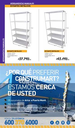 Ofertas de Estantería  en el catálogo de Ferrexperto en Santiago