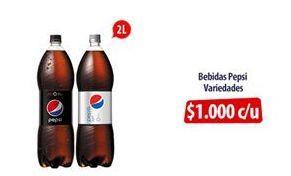 Oferta de Bebidas Pepsi por $1000