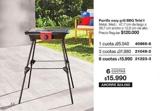 Oferta de Parrilla barbacoa compacta por $95940