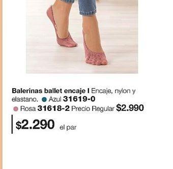Oferta de Balerinas por $2290