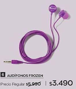 Oferta de Audífonos Frozen por $3490