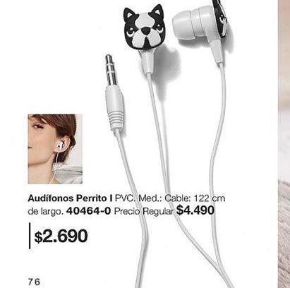 Oferta de Audífonos por $2690