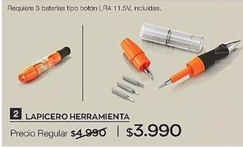 Oferta de Lapicero por $3990