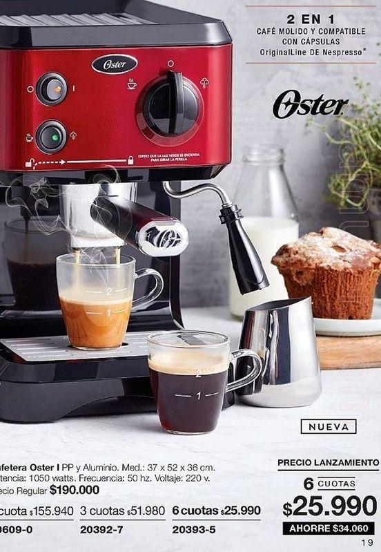 Oferta de Cafetera Oster por $155940