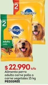 Oferta de Comida para perros Pedigree por $22990