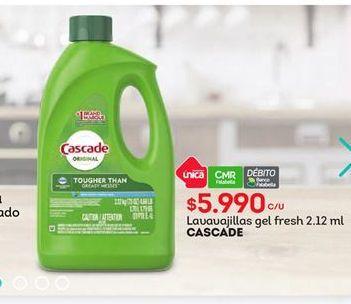 Oferta de Lavavajillas CASCADE por $5990